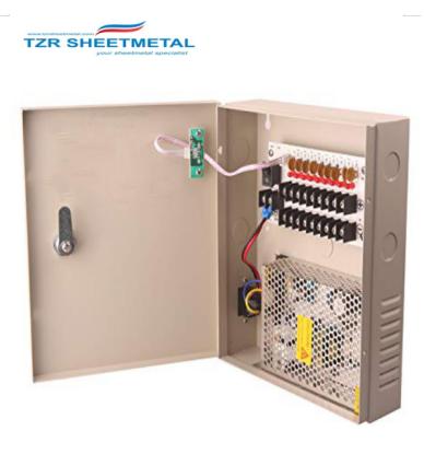Hochwertiges Gehäuse für Blechbearbeitung für elektrische Stromversorgungskästen