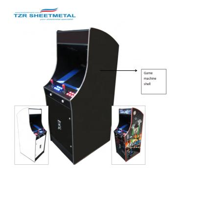 Bauen Sie Ihr eigenes Arcade-Gehäuse für Geeks Cosmic Fighter Multi-Game Arcade Machine-Außengehäuse