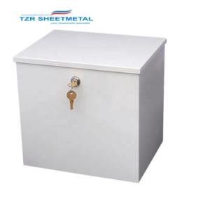 Dongguan hardware metal box lockable with customized logo