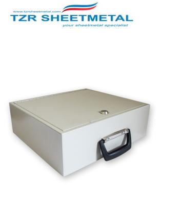 Dongguan Hardware-Metallbox mit individuellem Logo abschließbar