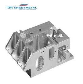 Aluminium-Präzisions-CNC-Fräsmaschinen-Teile mit hoher Qualität