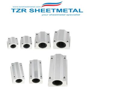 CNC-Fräsen von kundenspezifischen mechanischen Teilen aus Aluminium
