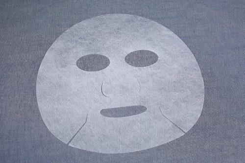 40gsm Chitosan spunlaced nonwoven fabric skin regeneration series facial mask sheet