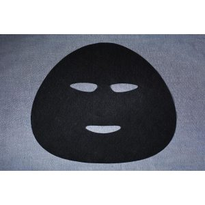 CT4500P 45gsm Facial Sheet Mask Fabric, 50% Activated Carbon Spunlace Nonwoven Fabric