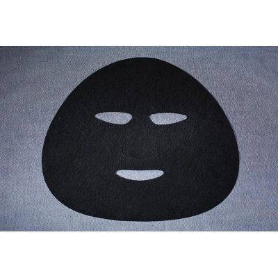 45gsm Activated carbon fiber spunlaced nonwoven fabric Facial Sheet Mask Fabric draw out dirt