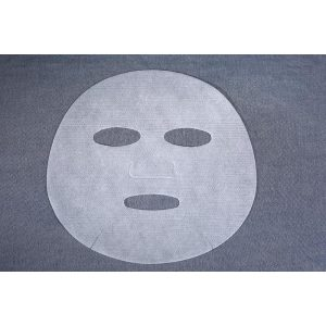 C650 60gsm Spunlace Nonwoven Facial Sheet Mask Fabric, made of 50% Cupra and 50% Lyocell