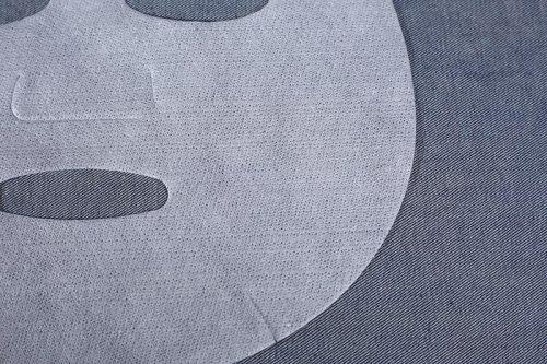 C650 60gsm Spunlace Nonwoven Facial Sheet Mask Fabric, made of 50% Cupra and 50% Lyocell