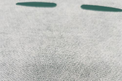 SE384 imitation S grain spunlaced non woven fabric cupro fiber nonwoven facial mask sheet