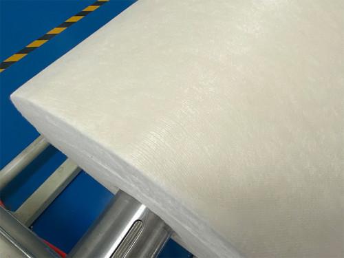 SD384-ZY 32gsm cupro fibers spunlace non-woven fabric roll imitation SE384 grain  tight attaching