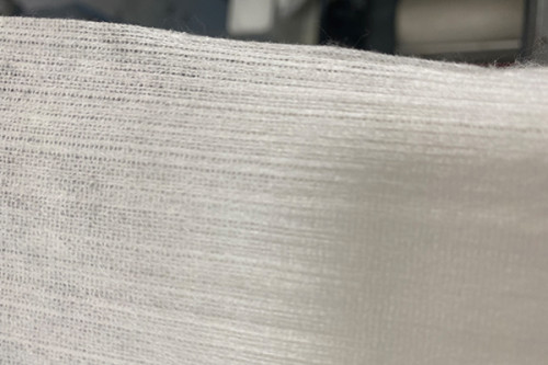 40gsm cupro fibers nonwoven small grid textured non-woven fabric 50% cupro 50% lyocell