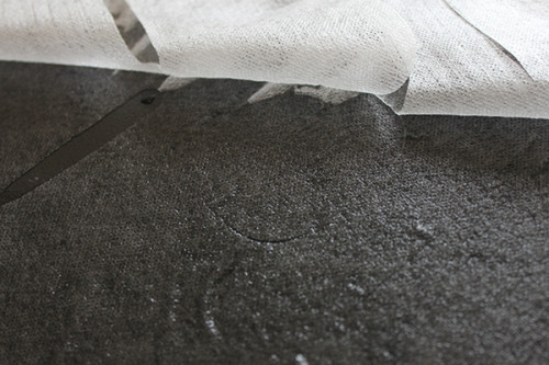 25gsm 100% cupro fibers nonwoven  Cupro Fibers Spunlace Nonwoven Facial Mask Sheet