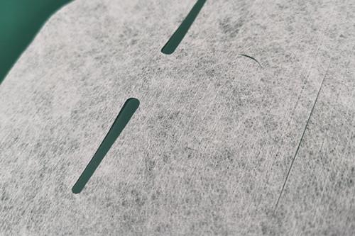 23gsm viscose spunlaced non-woven fabric microfiber polyster fiber  facial mask sheet