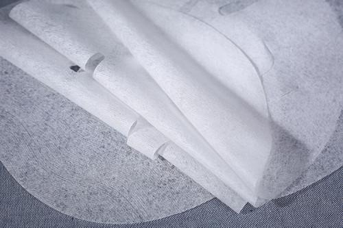 38gsm 100% cupro fiber nonwoven spunlaced non woven fabric facial mask sheet high transparent