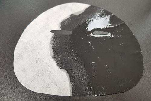 40gsm high-penetration tencel fiber facial mask sheet finishing process spunlaced nonwoven fabric