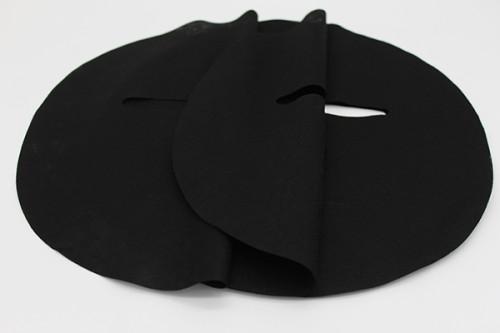 100% bamboo charcoal fiber spunlace nonwoven fabric facial mask sheet blcak facial sheet mask fabric