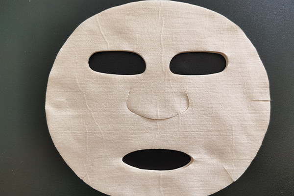 100% Aloe fiber spunlace non-woven fabric sterilization anti-inflammatory facial sheet mask fabric