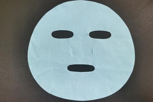 40gsm Blue ultrafine nylon fiber spunlace nonwoven fabric colourful facial mask sheet