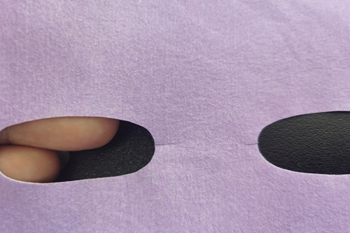 40gsm purple ultrafine nylon fiber spunlace nonwoven fabric colourful facial mask sheet