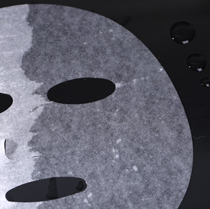 cotton and viscose fiber blended spunlace nonwoven facial mask fabric plain mask sheet plant fiber