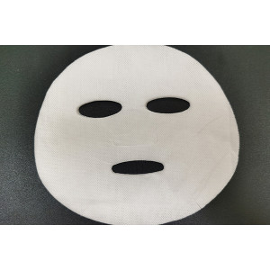 100gsm pure cotton natural plant fiber spunlace nonwoven facial mask fabric mesh mask sheet
