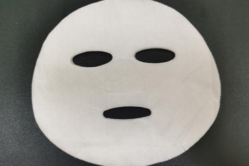 100gsm pure cotton natural plant fiber spunlace nonwoven facial mask fabric mesh mask sheet