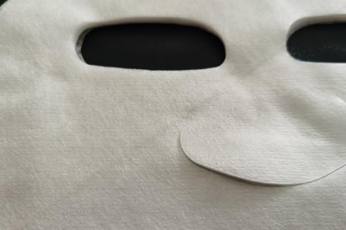45gsm 100% cupro fiber nonwoven facial mask sheet transparent absorbent and moisturizing properties