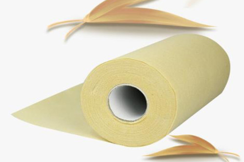 50gsm bamboo fiber spunlaced nonwoven fabric roll full cross plain weave original ecological