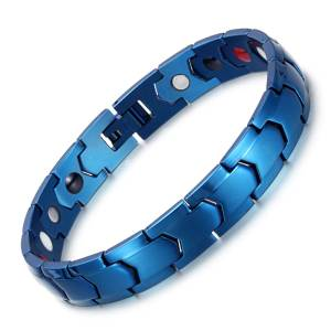Egyptian Scintillate design stainless steel  magnetic bangle bracelets