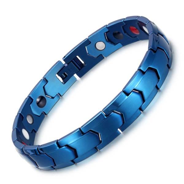Egyptian Scintillate design stainless steel  magnetic bangle bracelets