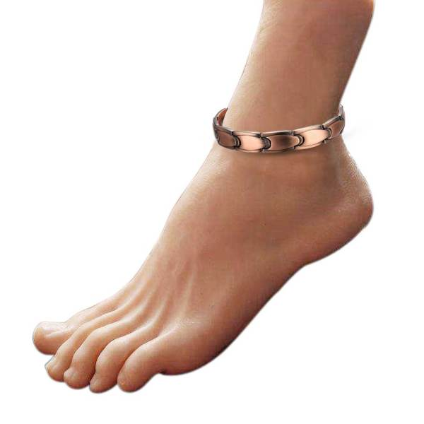 Lilt Pure solid copper magnetic anklet