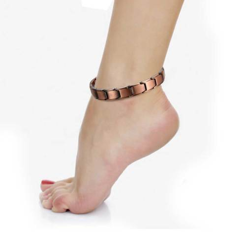 Lilt Pure solid copper magnetic anklet