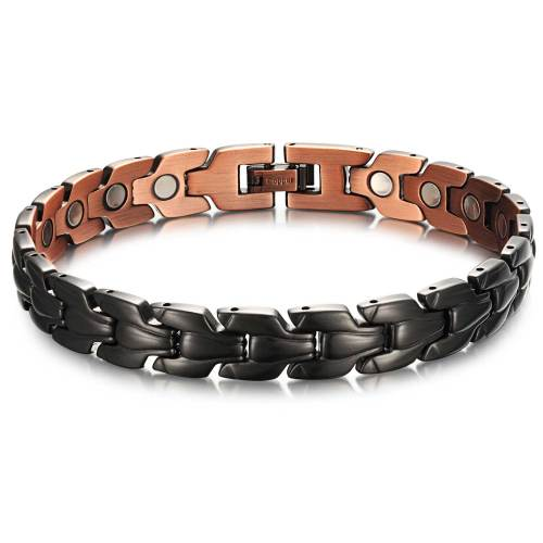 Epeolatry black plated copper magnetic bracelet