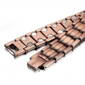 beatitude mens solid copper magnetic bracelet