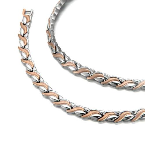 Syzygy stainless steel magnetic necklace