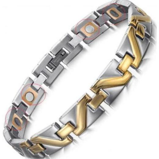 Stainless steel copper RunBalance bracelets
