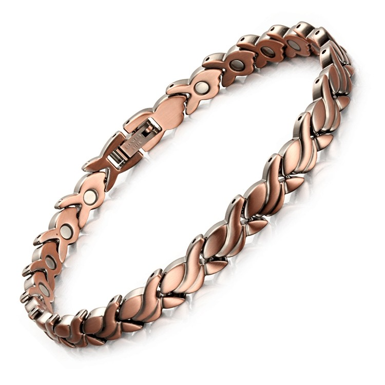 Women copper magnetic therapy bracelet