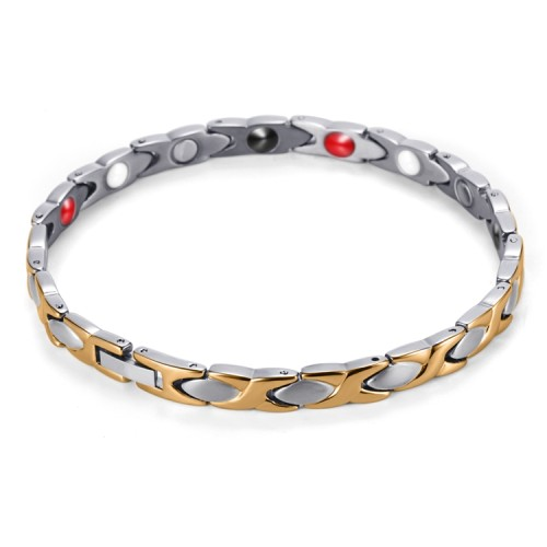 Lonicera stainless steel magnetic therapy bracelet