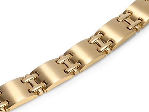 Gold Fence stainless steel magnetic therapy bracelet