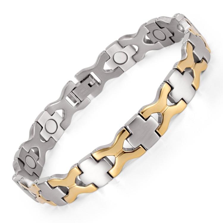 Wholesale price stainless steel magnetic bracelet