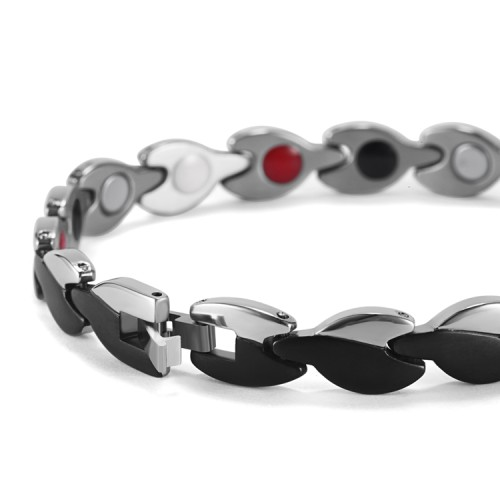 Nero Portoro stainless steel magnetic bracelet balance fashion jewelry