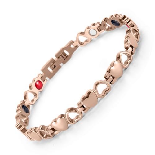 Demesne stainless steel magnetic bracelet Heart