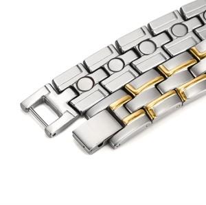 RunBalance full magnets stainless steel magnetic bracelet