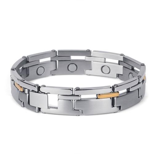 Tonicity full magnets stainless steel magnetic bracelet