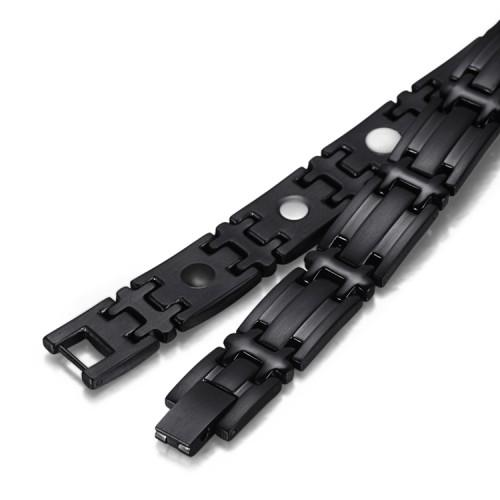 Haleness full magnets stainless steel magnetic bracelet