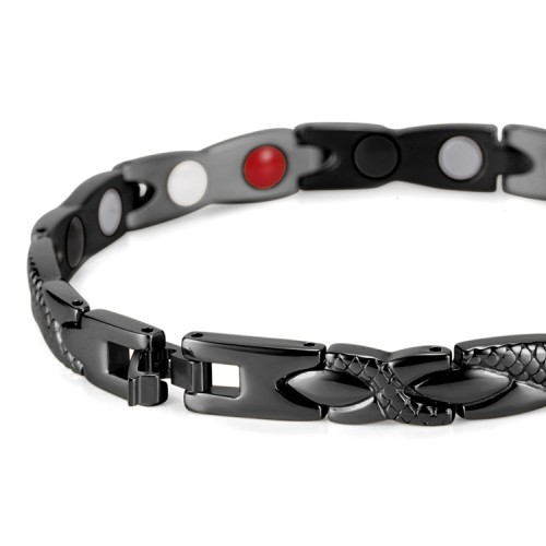 Medusa 4 in 1 elements stainless steel magnetic bracelet suitable for everyone