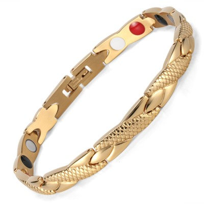 Balance Medusa 4 in 1 elements stainless steel magnetic bracelet