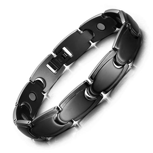Stamina full magnet stainless steel magnetic bracelet lady care