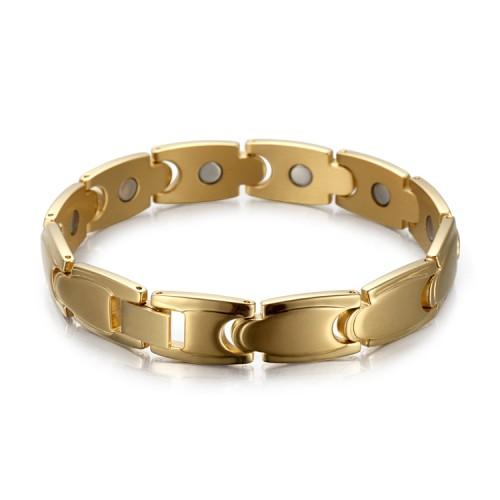 Stamina full magnet stainless steel magnetic bracelet