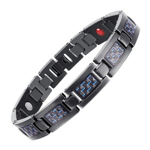 BLASS 4 in 1 element stainless steel magnetic bracelet