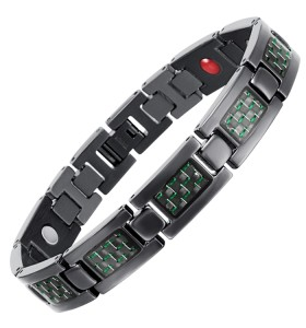 BLASS 4 in 1 element stainless steel magnetic bracelet fashion style